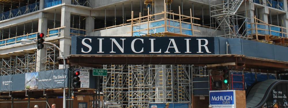 The Sinclair banner