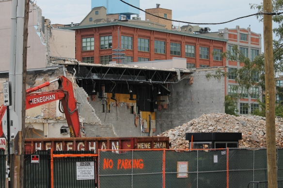 Harpo Studios Demolition