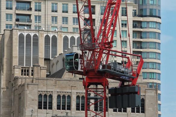 Simpson Querrey tower crane