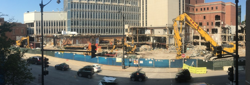 Children's Memorial Hospital demolition