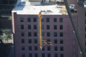 625 West Adams tower crane