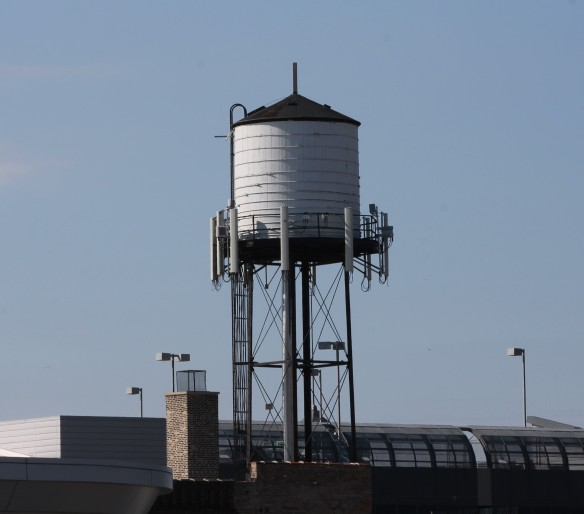 1500 North Halsted water tank