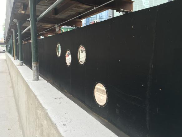 One Bennett Park peepholes