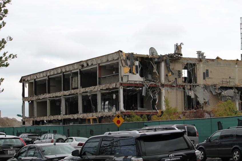Malcolm X College demolition