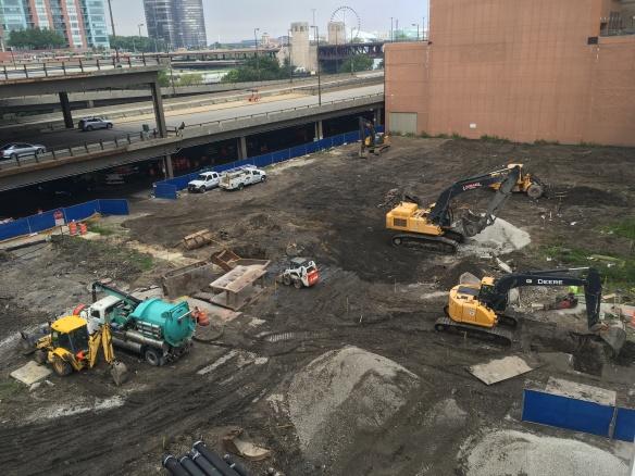 Vista Tower foundation work
