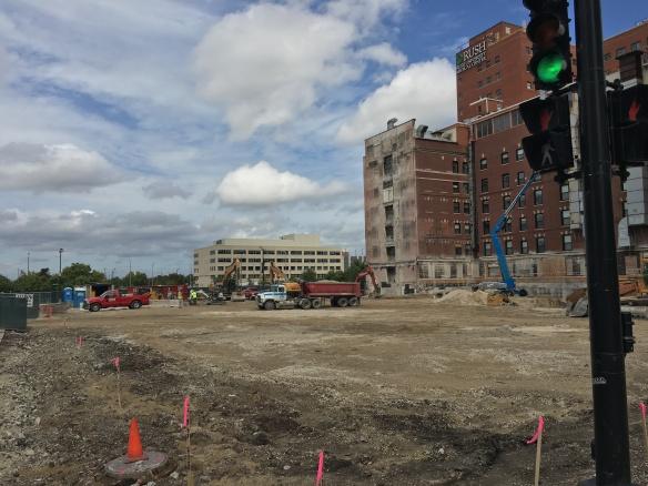 Rush Medical Center demolition