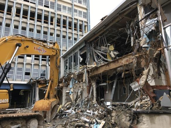Lincoln Common demolition