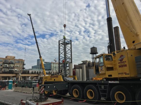 171 Aberdeen tower crane