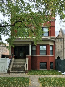 The parish house at 3921 North Monticello. Will it be saved?