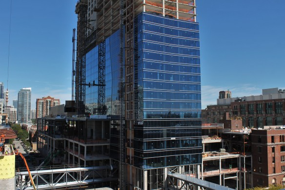 Construction Update The Marriott Marquis Chicago At