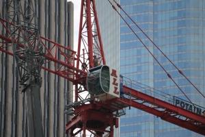 465 North Park tower crane