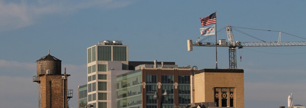 crane tank flag