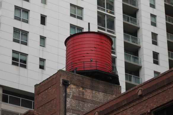 161 East Grand water tank
