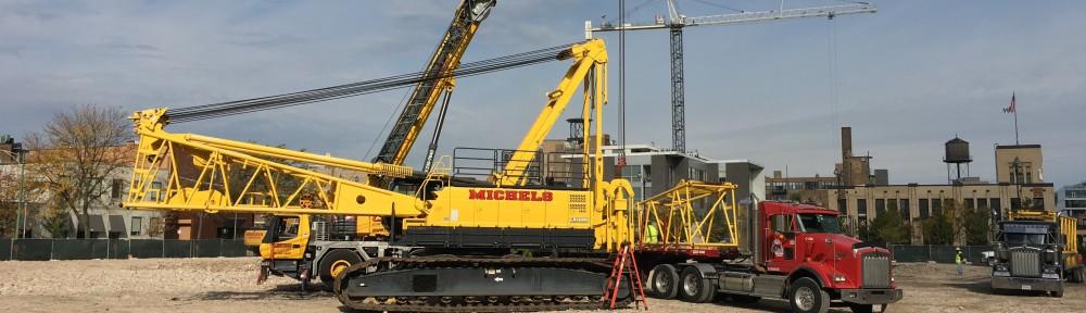 McDonald's HQ crane