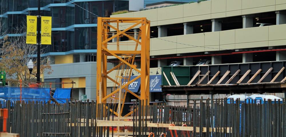 One Bennett Park tower crane