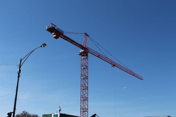 Hotel Zachary tower crane
