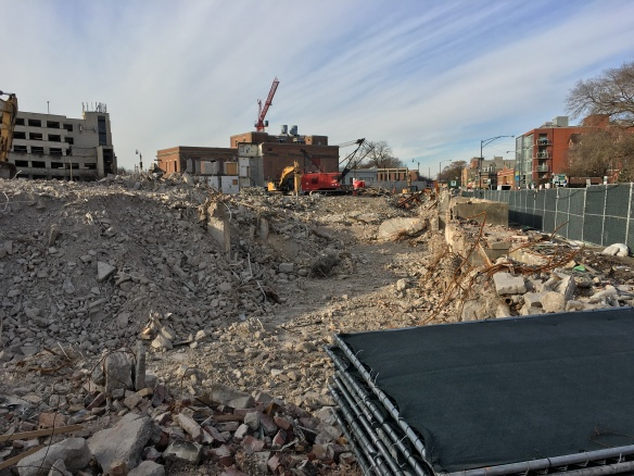 Children's Memorial Hospital demolitions