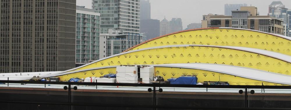 Wintrust Arena roof