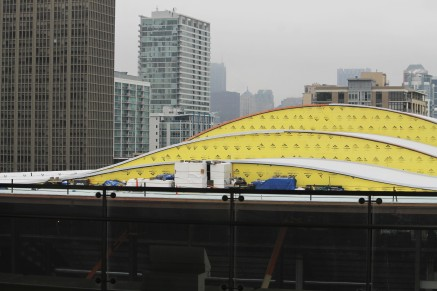Wintrust Arena roof 1