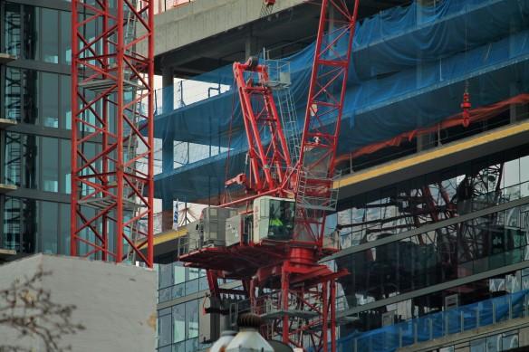640 North Wells tower crane