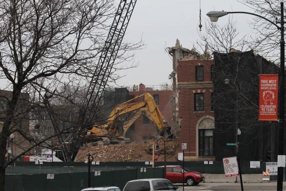 Nellie A. Black Memorial Pavilion demolition