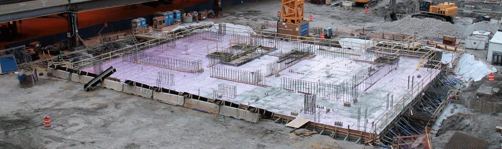Wanda Vista Tower concrete pour
