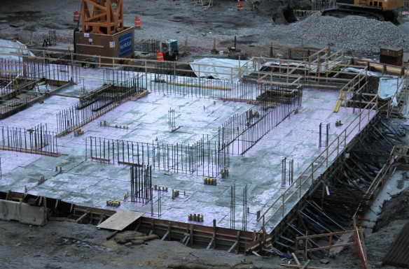 Wanda Vista Tower concrete pour 2