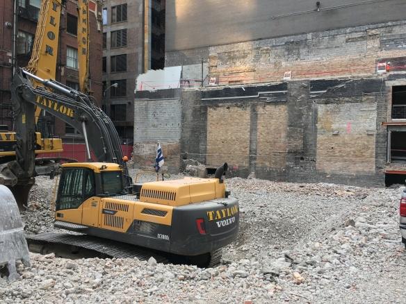 MCA demolition