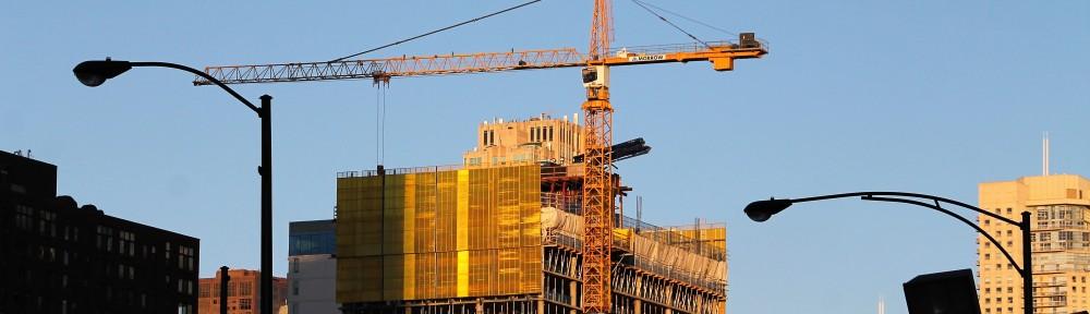 3Eleven rooftop crane