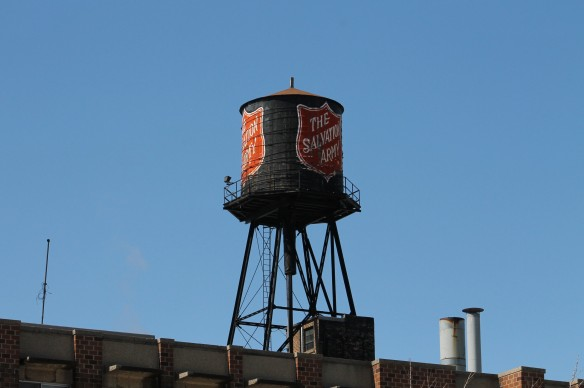 Salvation Army Chicago Water Tank