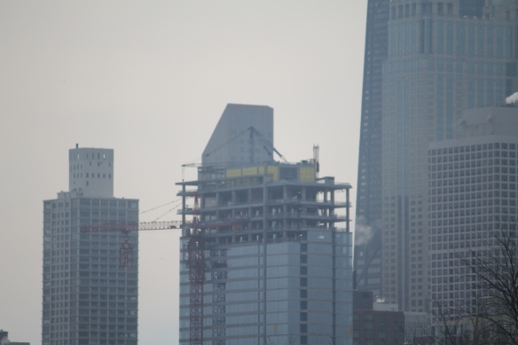 The Sinclair tower crane removal