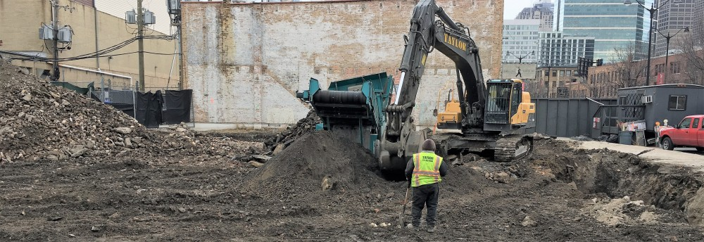 Nobu Hotel excavation