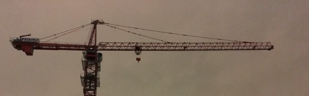 Centrum Hubbard tower crane