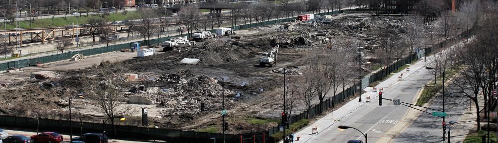 Rush University Medical Center demolitions