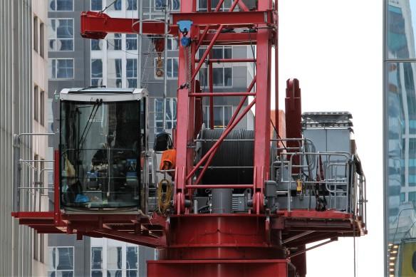 CNA Center tower crane