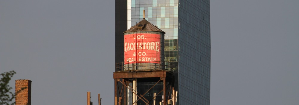 Chicago water tank, 527 South Wells Street