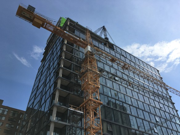 3Eleven tower crane removal