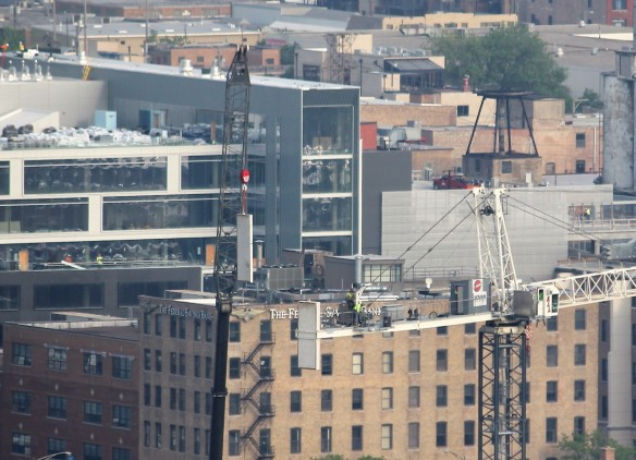 171 Aberdeen tower crane removal