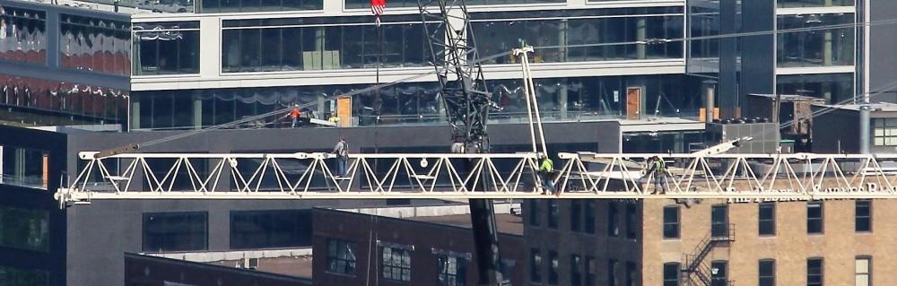 171 Aberdeen tower crane removal
