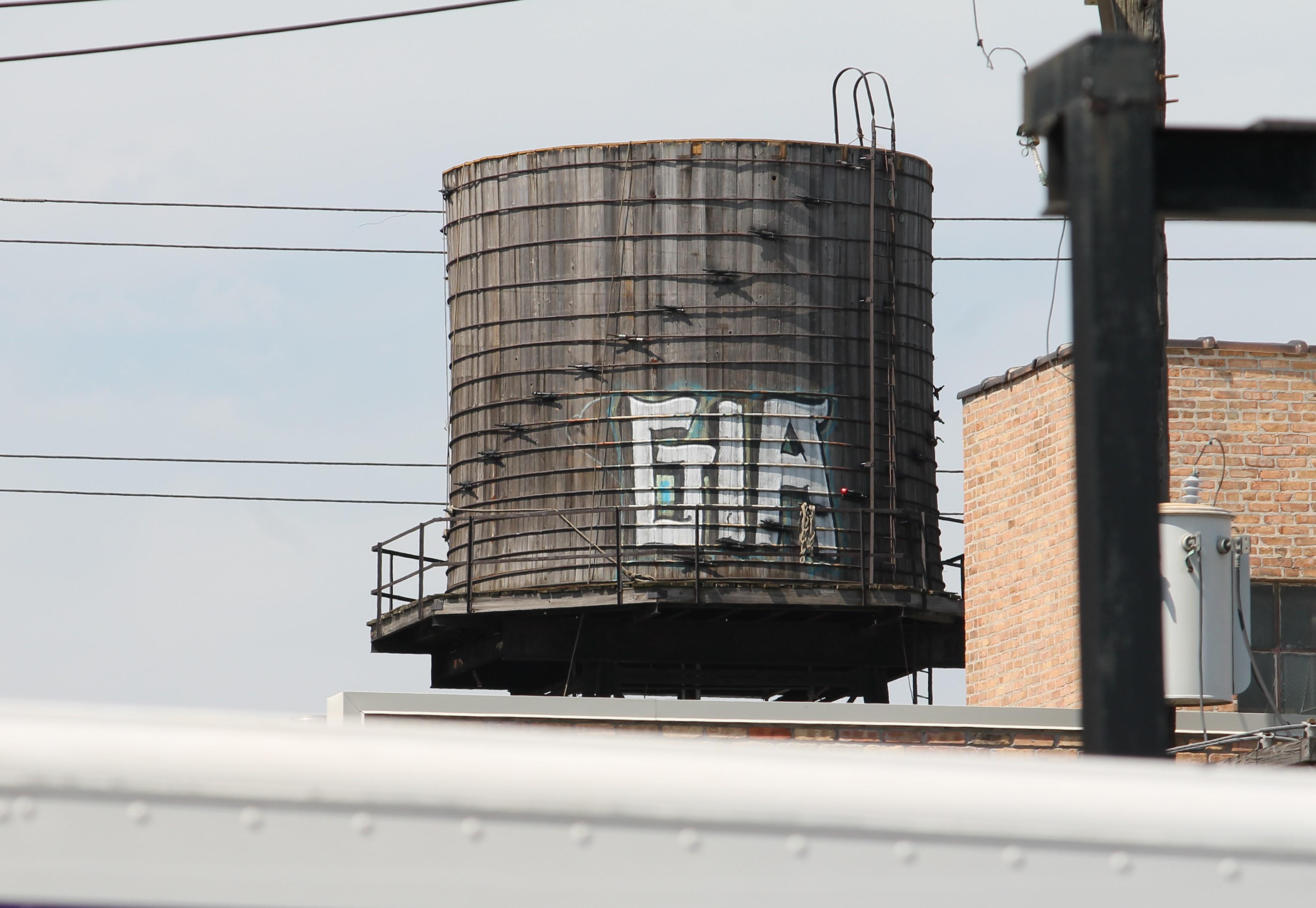 Water tank 1622 West Carroll Avenue