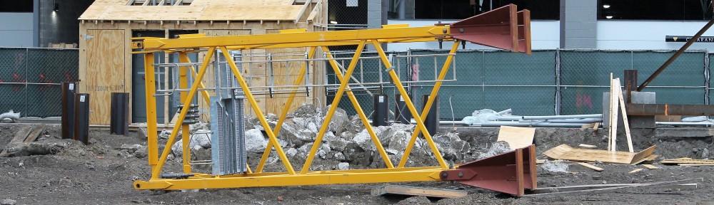 1326 South Michigan tower crane stub