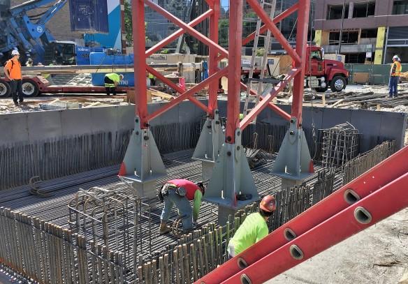 Marlowe tower crane stub