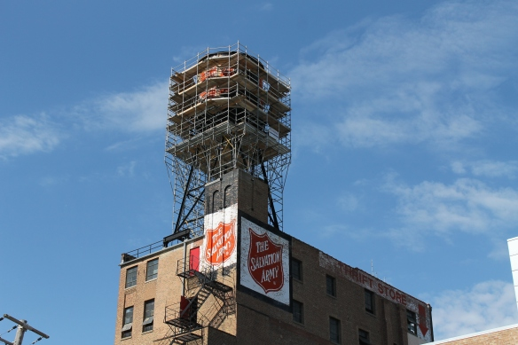 Salvation Army water tank