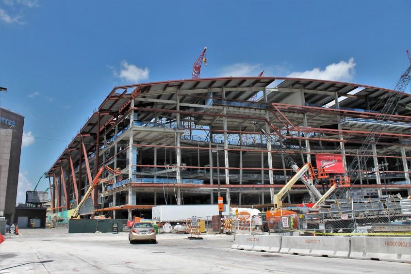 New Milwaukee Bucks arena WESC
