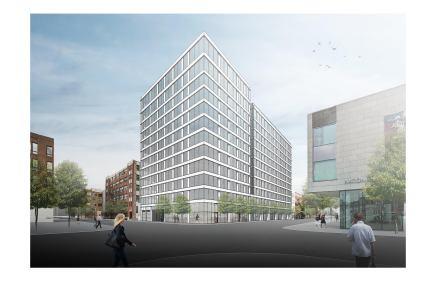 Rendering of 808 West Van Buren courtesy of bKL Architecture.