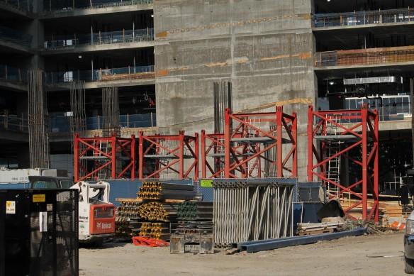 One Grant Park tower crane jump