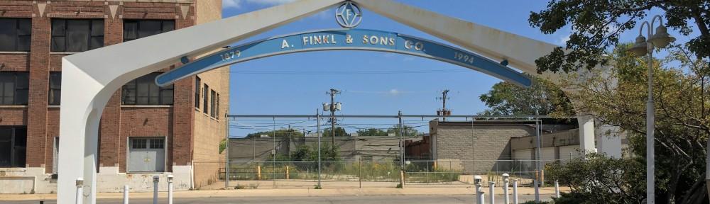 Sterling Bay Finkl Steel site