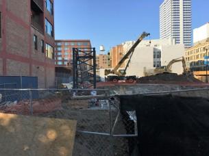 808 West Van Buren tower crane stub 2