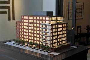 Hayden West Loop architectural model