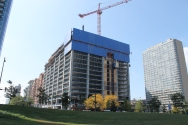 Meanwhile, that looks like 16 levels of progress on Crescent Heights' apartment tower.